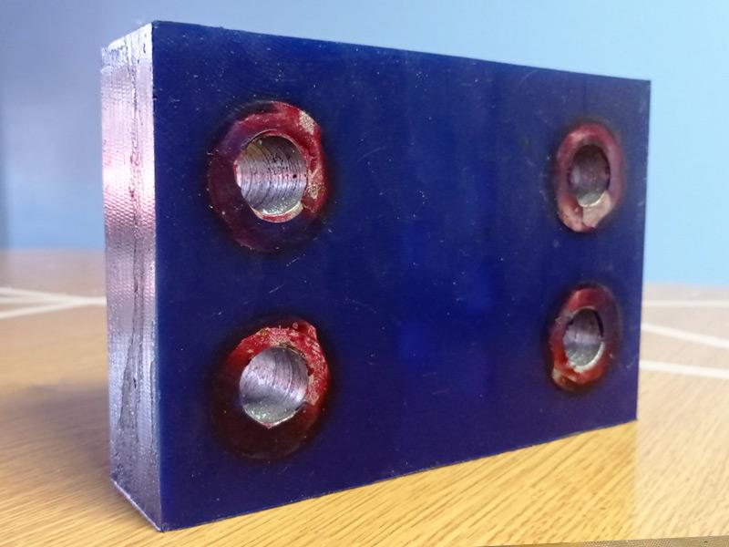 Bisagra de poliuretano para celdas de flotación - Ingomar