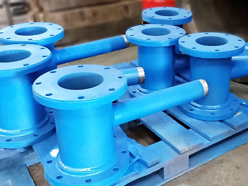 Ducto poliuretano bateria de hidrociclón - Ingomar
