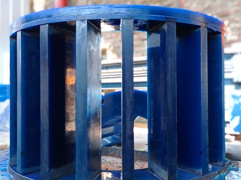 Estator para celda de flotacion en poliuretano Ingomar