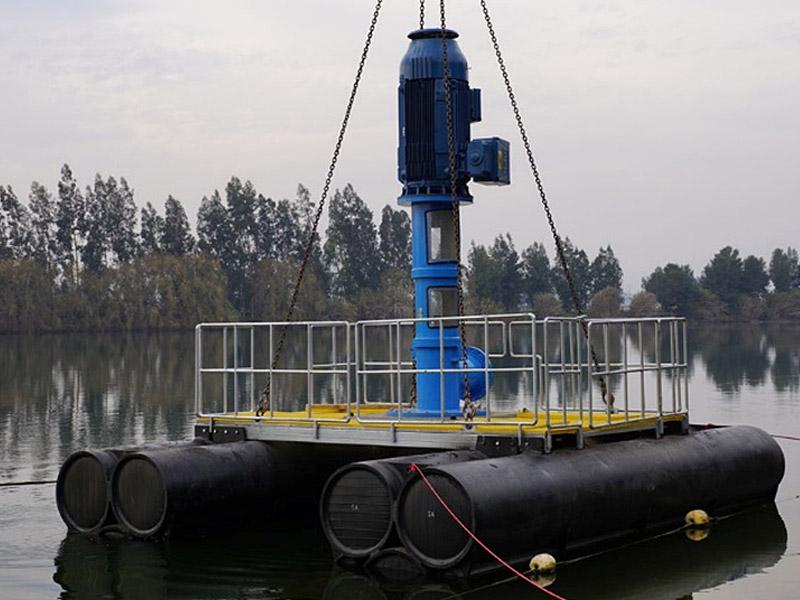Ingomar Balsa para bomba catamaranl HDPE