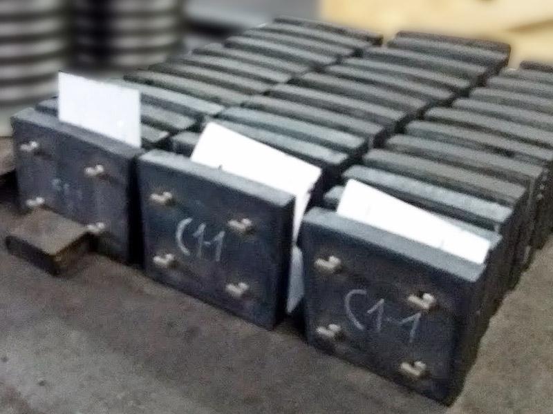Placas modulares de caucho Ingomar