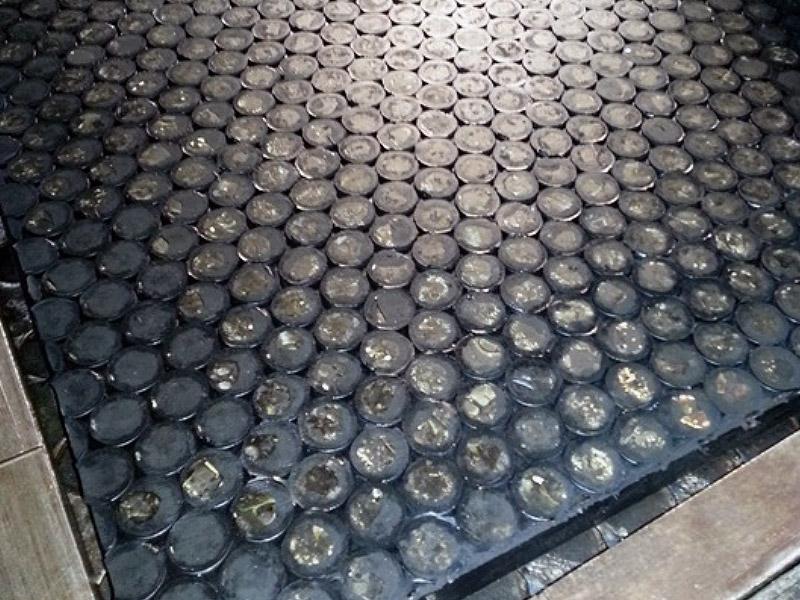 Placas de caucho-cerámico Ingomar