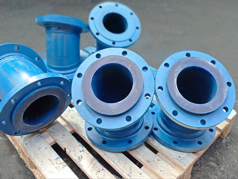Revestimiento en poliuretano ductos bateria de hidrociclón - Ingomar