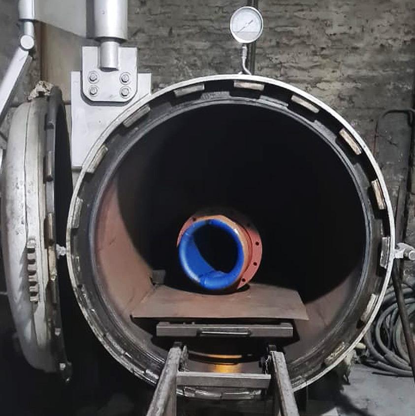 Auticlave 3 Servicio de vulcanizado Ingomar