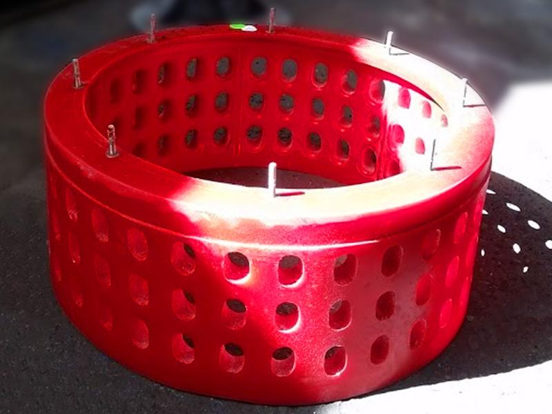Rotor para celdas de flotacion en poliuetano Ingomar