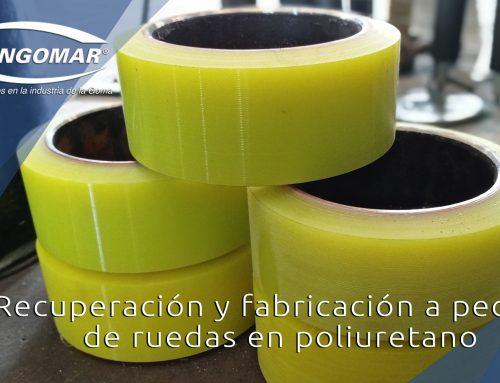 Recuperación y fabricación a pedido de ruedas en poliuretano